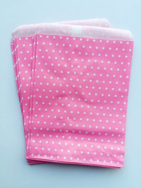 Mini Polka Dot Bags-10 pack