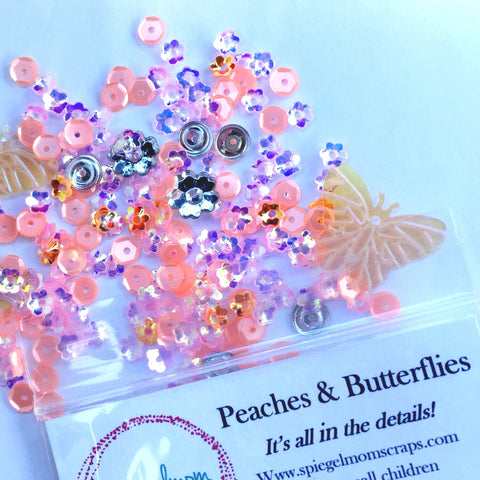 Peaches & Butterflies