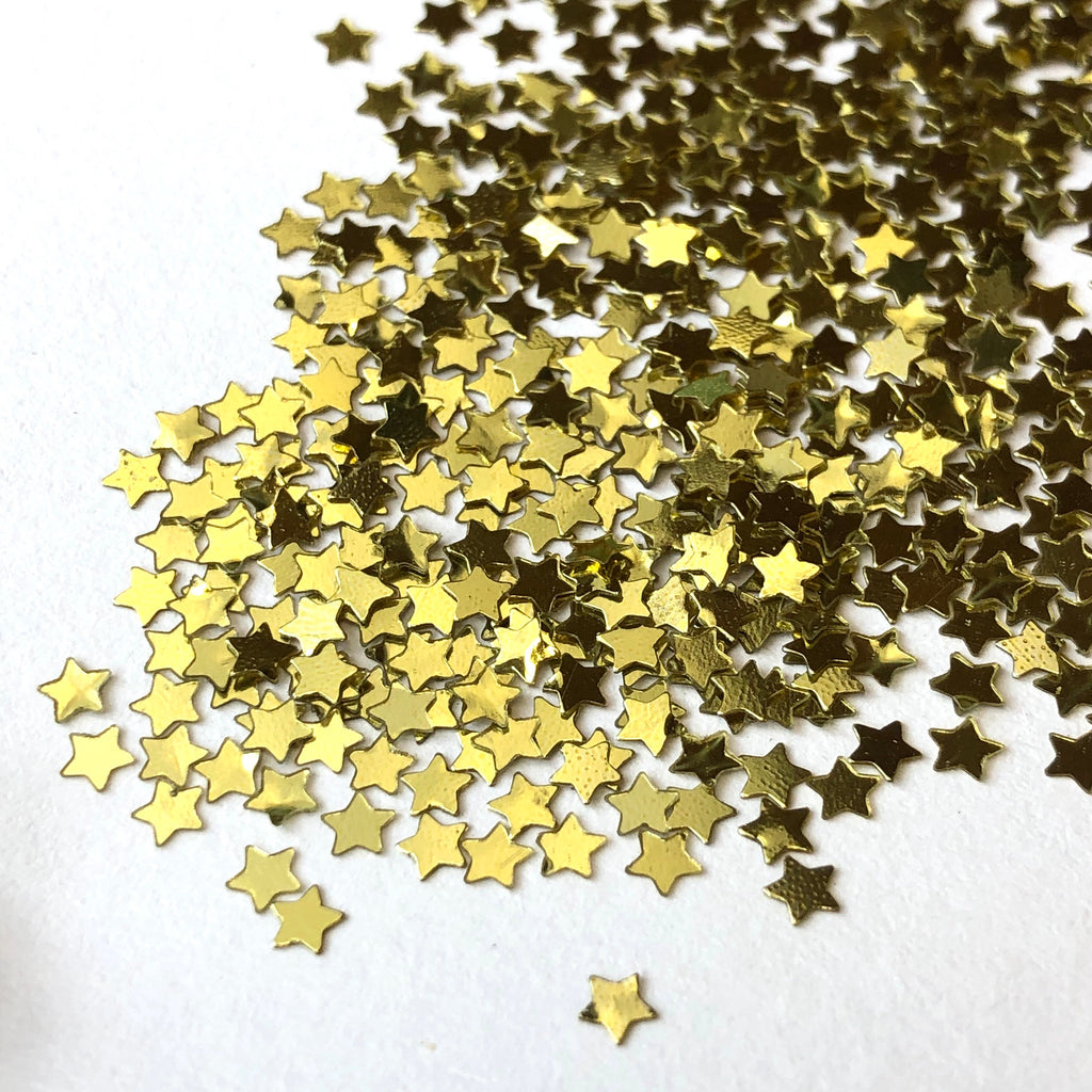 Gold Stardust Sequins