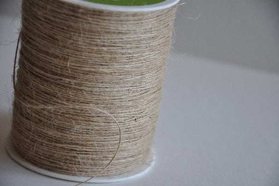 Natural Burlap String by the yard