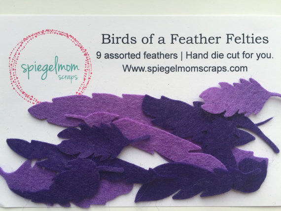Birds of a Feather Felties