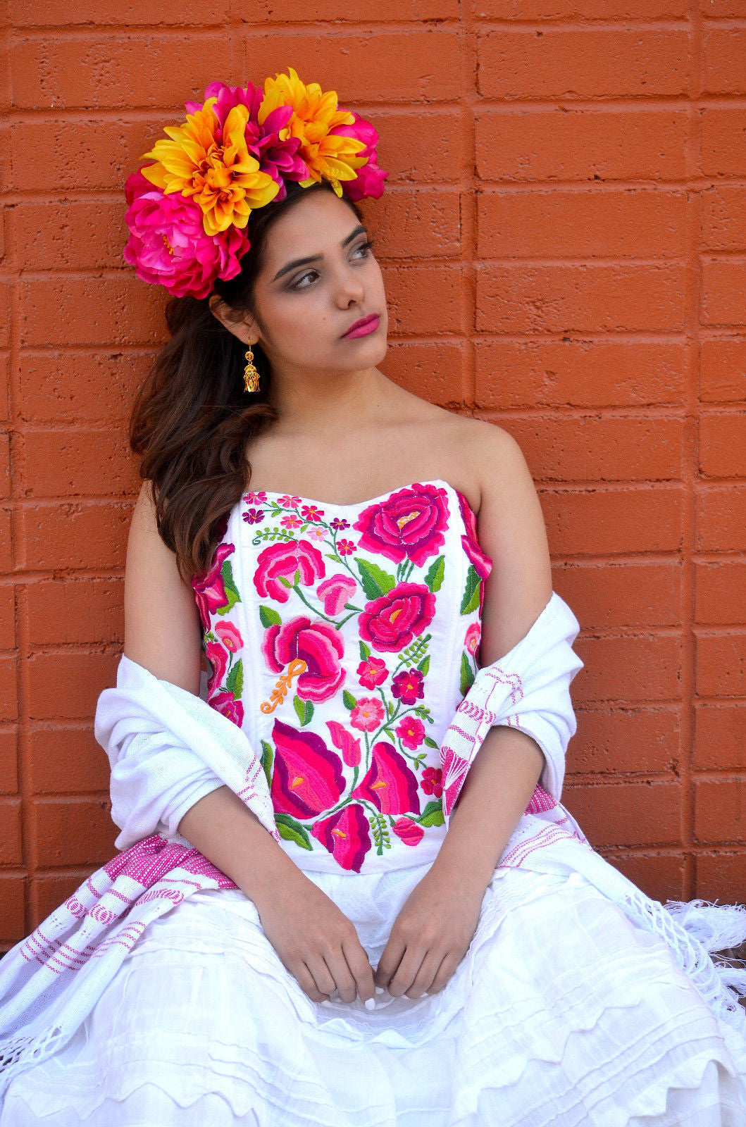 Gloria vidal authentic embroidery from mexico