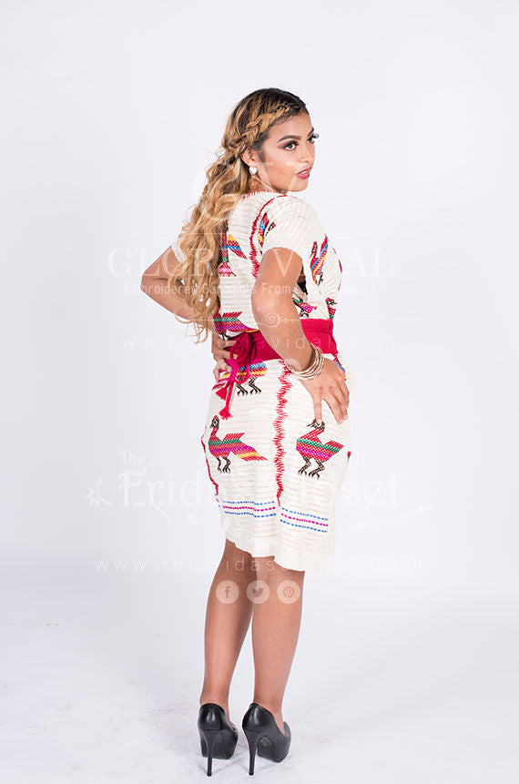 71453677b152d ... Sexy Traditional Hand Woven   Embroidered Chinantec Mexican Huipil  Hippie Boho ...