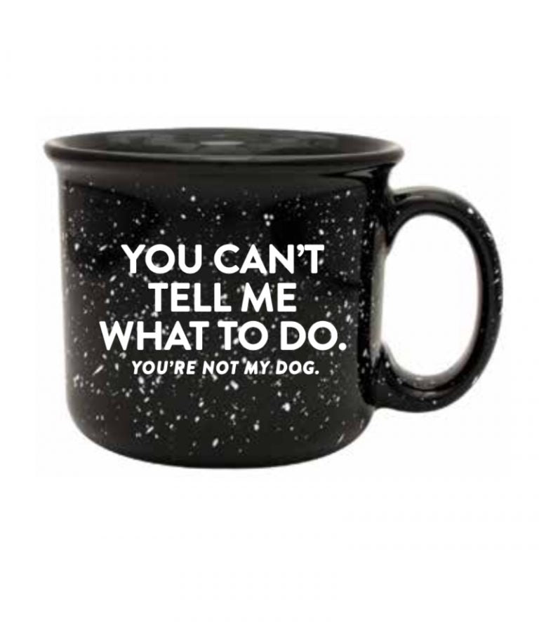 NOT MY DOG MUG