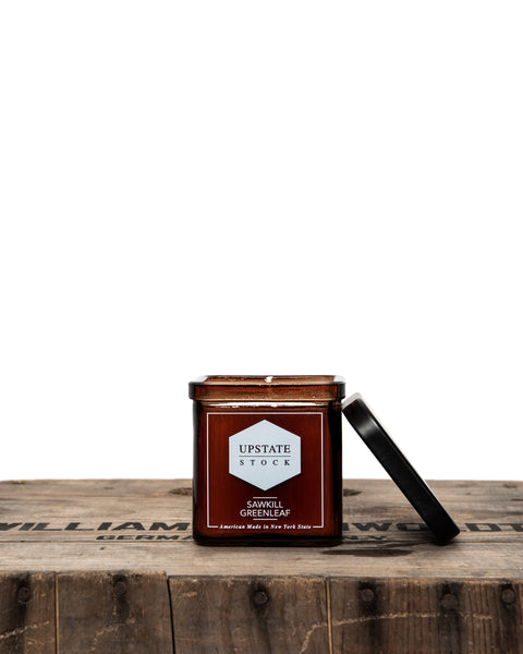 Sawkill Greenleaf Coconut Wax Candle