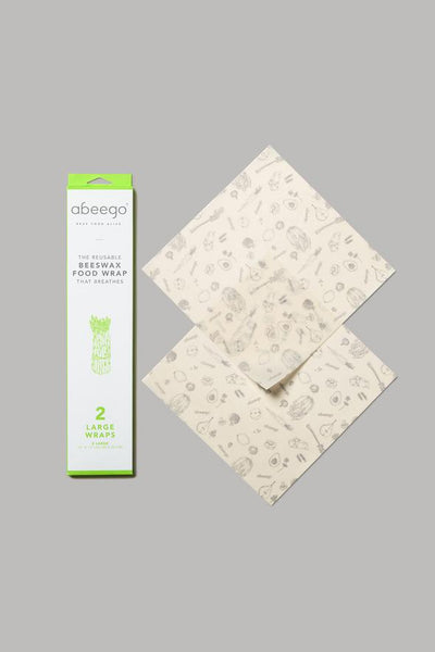 ABEEGO - beeswax food wrap - LARGE