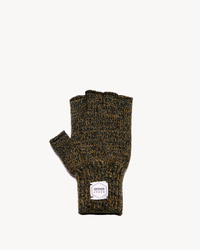 Jungle Melange Fingerless Ragg Wool Gloves