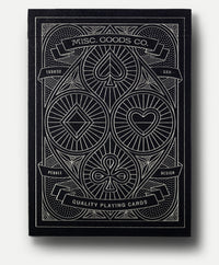Playing Cards Black Deck