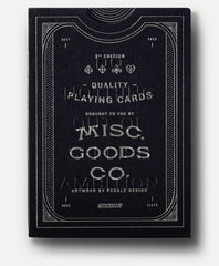 MISC-GOODS PLAYING CARDS - BLACK DECK