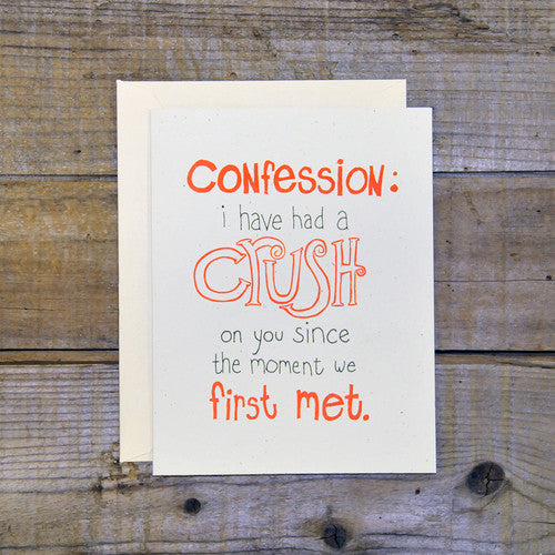 Crush Confession
