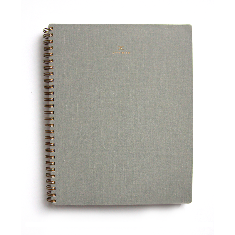 APPOINTED NOTEBOOK - DOVE GREY