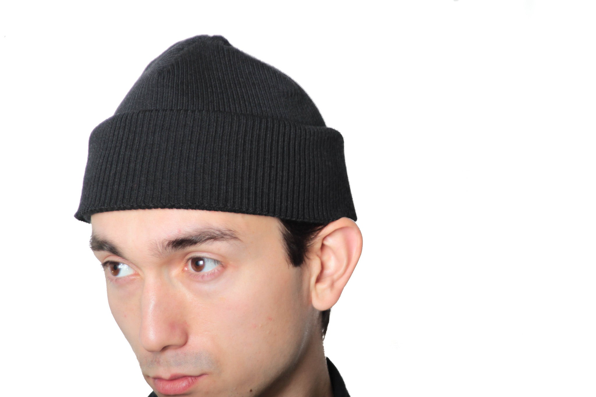 "KLAXON HOWL ""TRUE WATCHCAP"" IN BLACK"