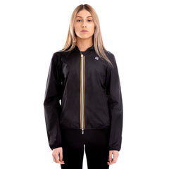 Women's Lil Plus Dot Full Zip Jacket Black
