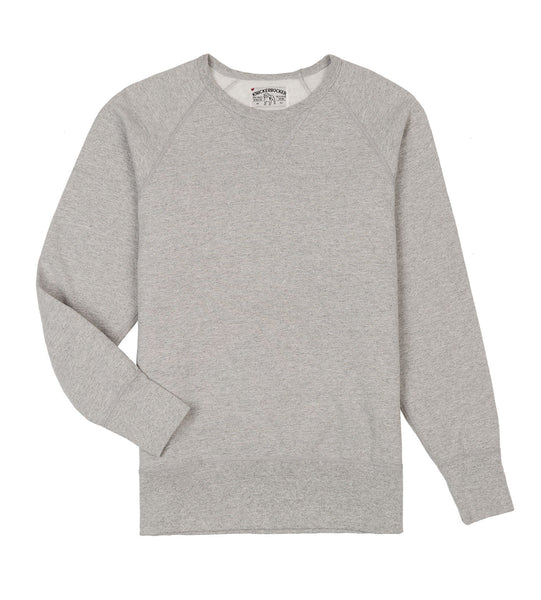 CREW NECK FLEECE SWEATER