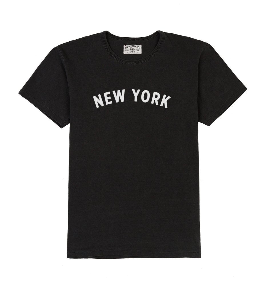 NEW YORK TUBE TEE - Coal