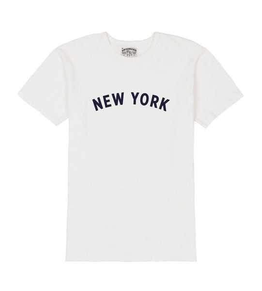 NEW YORK POCKET TEE - Milk
