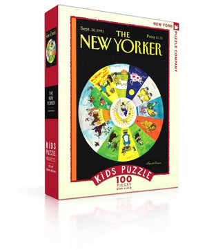 NEW YORKER - MOTHER GOOSE ZODIAC KIDS PUZZLE