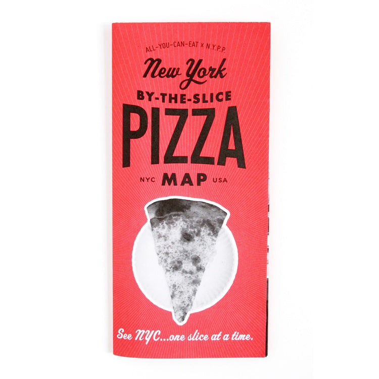 Volume 7 New York By-the-Slice Pizza Map