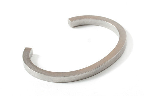 UNIFORM SQUARE CUFF - STEEL