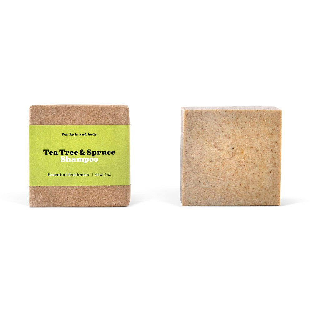 Tea Tree & Spruce Shampoo Bar