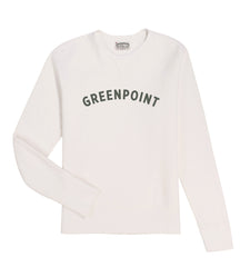 "Greenpoint Souvenir Crew Neck - ""The Greenpointer"""