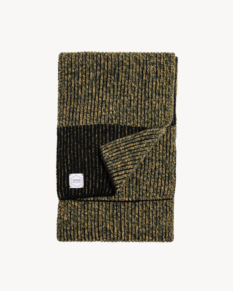 Jungle Melange Ragg Wool Scarf