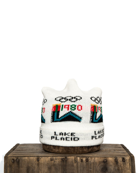 DEADSTOCK 1984 LAKE PLACID OLYMPIC BEANIE