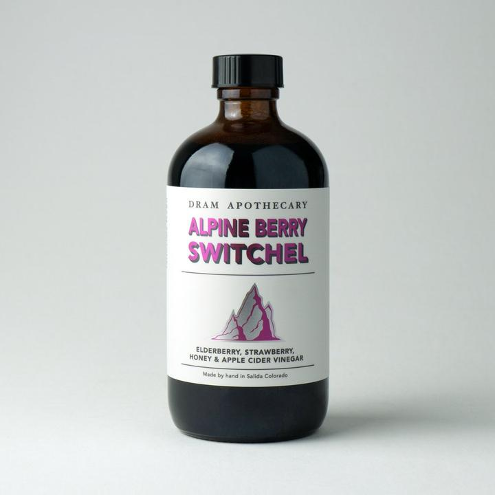 ALPINE BERRY SWITCHEL DRINKING VINEGAR