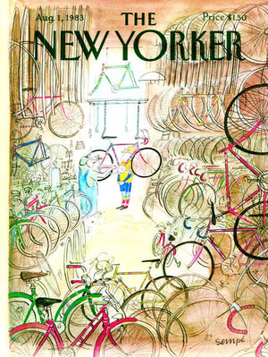 NEW YORKER - Bicycle Shop