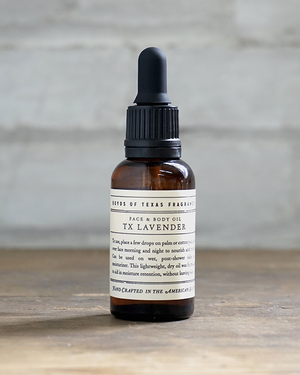 TX Lavender - Face & Body Oil