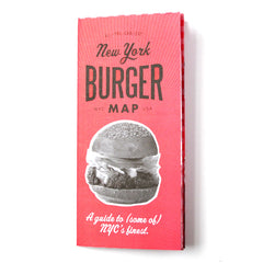 Volume 2 New York Burger Map