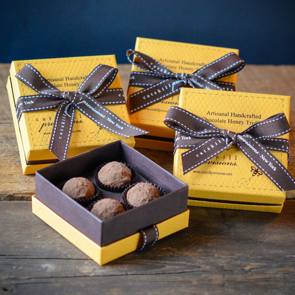 HONEY WHISKEY TRUFFLES