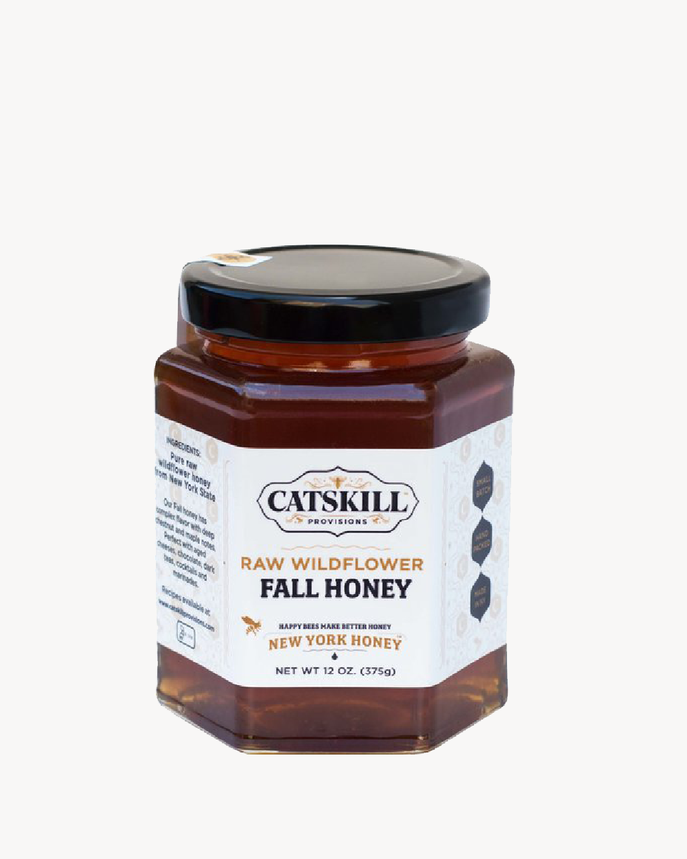 RAW WILDFLOWER NY STATE HONEY - FALL