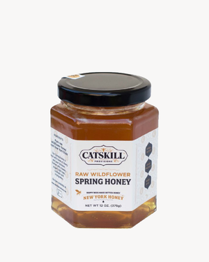 RAW WILDFLOWER NY STATE HONEY - SPRING