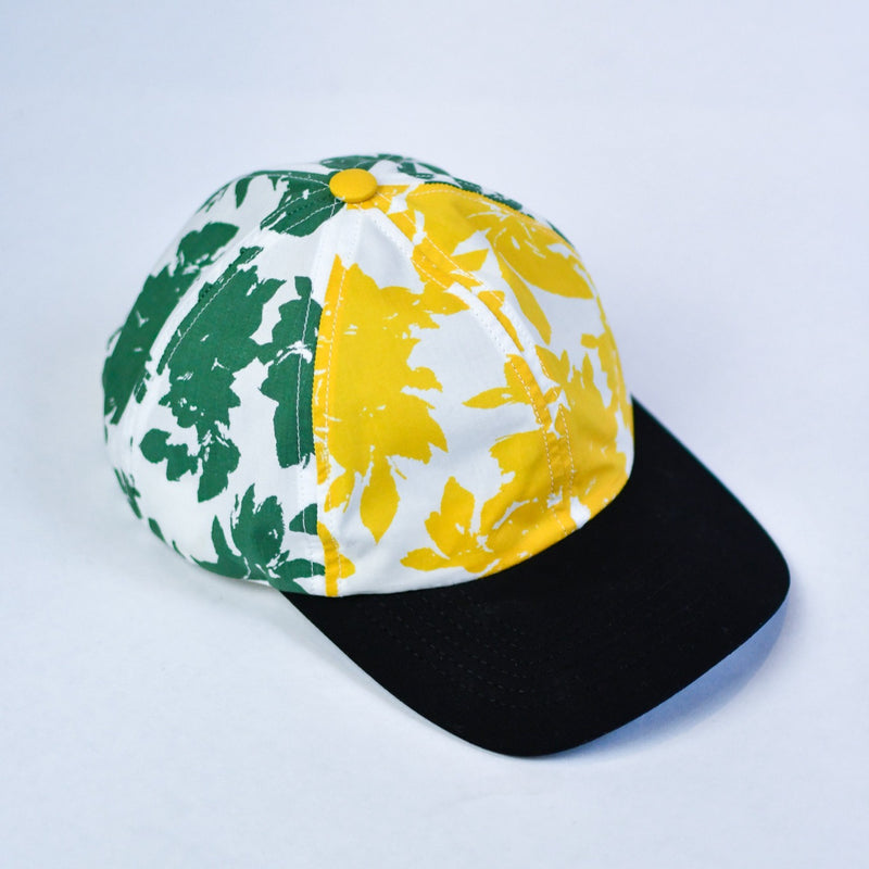 USNY 6-Panel Cap - Lemon/Lime