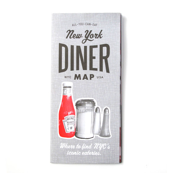 Volume 4 New York Diner Map