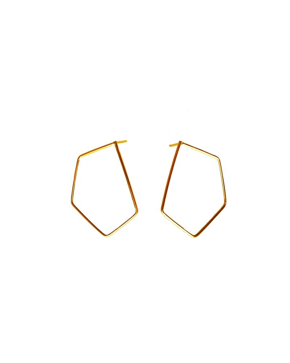 Gold Outline Earrings