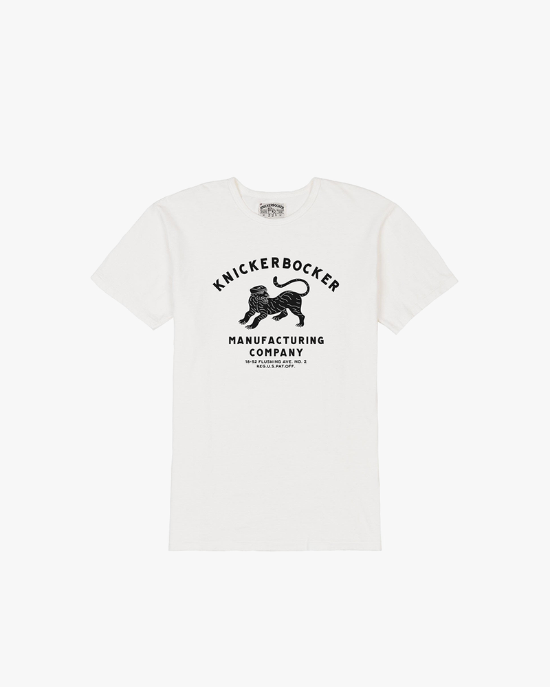 "Knickerbocker ""The Company"" Tee - Milk"