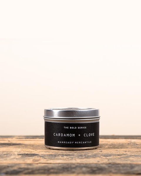 Cardamom + Clove Soy Travel Candle