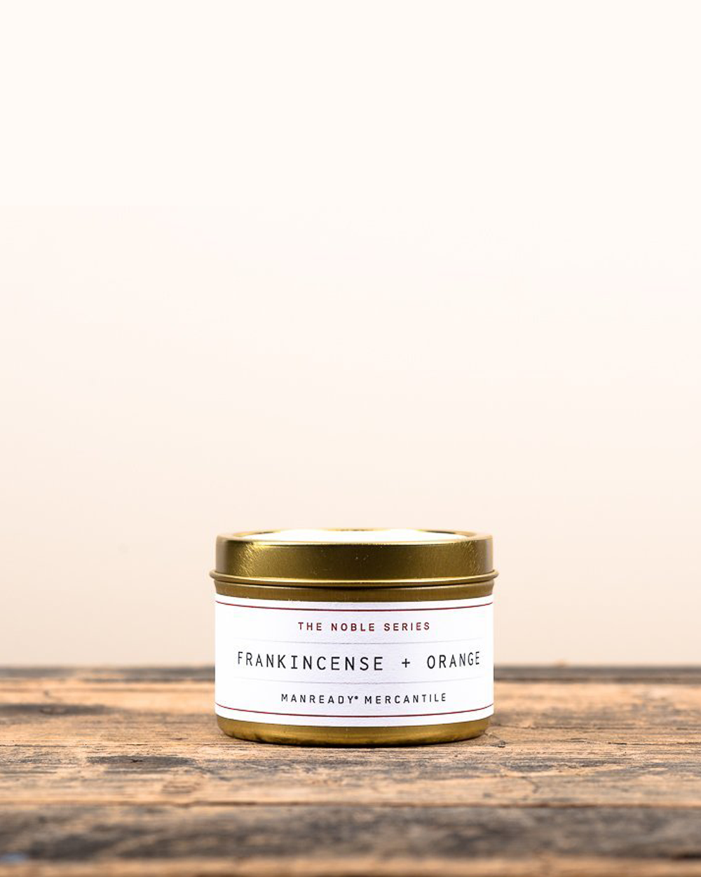Frankincense + Orange Soy Travel Candle