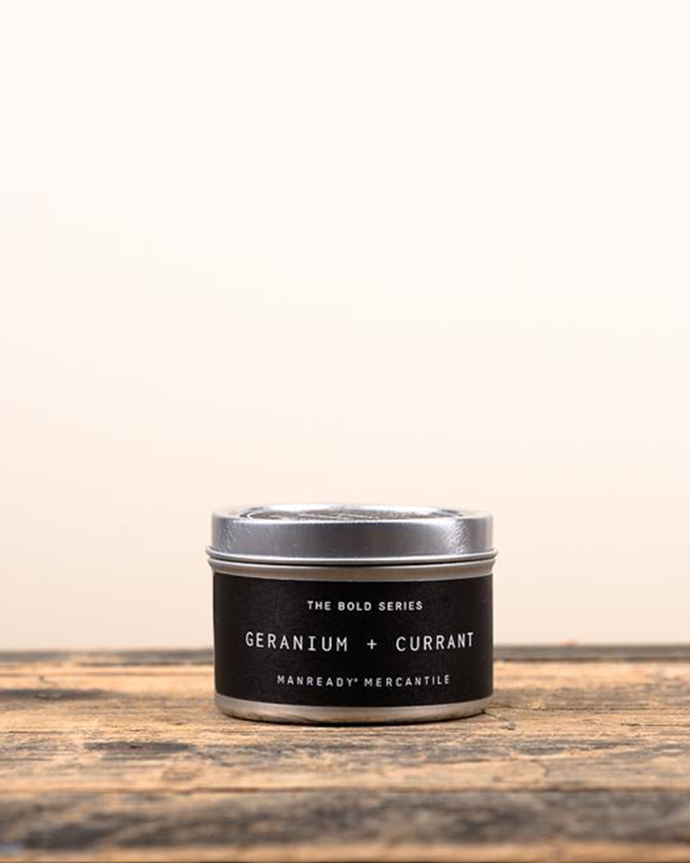 Geranium + Currant Soy Travel Candle
