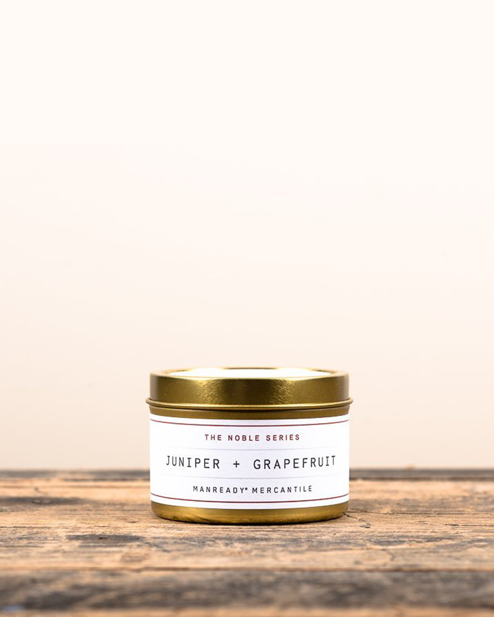 Juniper + Grapefruit Soy Travel Candle