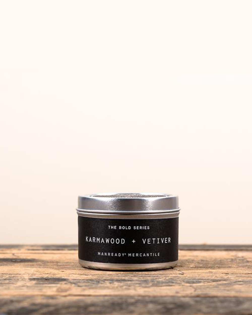 Karmawood + Vetiver Soy Travel Candle