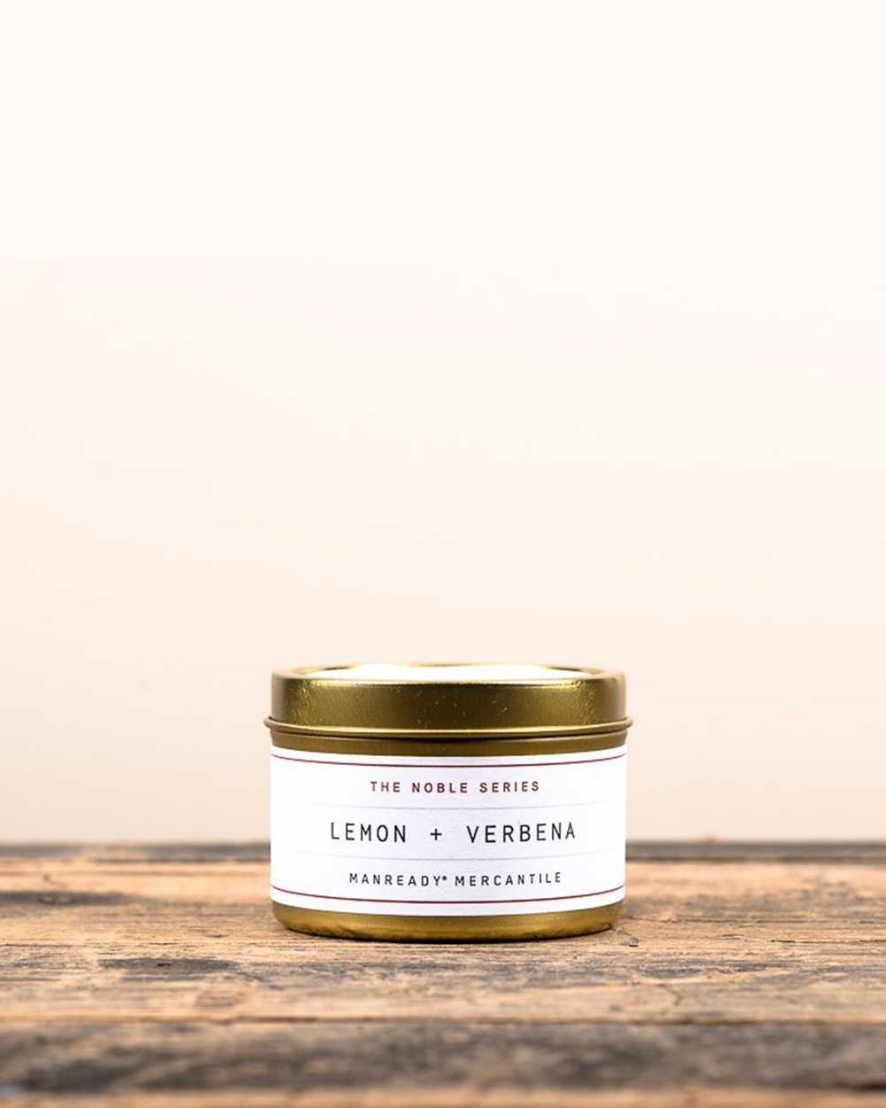 Lemon + Verbena Soy Travel Candle