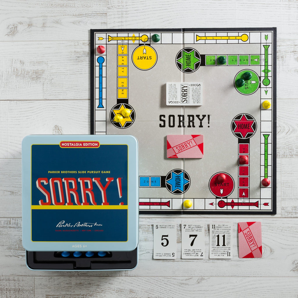 SORRY! NOSTALGIA TRAVEL TIN