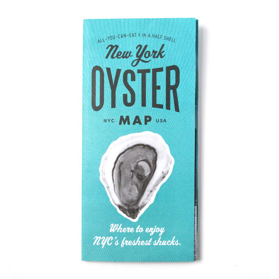 Volume 5 New York Oyster Map