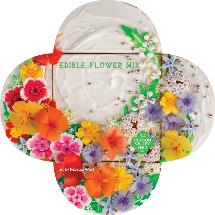 Hudson Valley Seeds Co. - Edible Flower Mix
