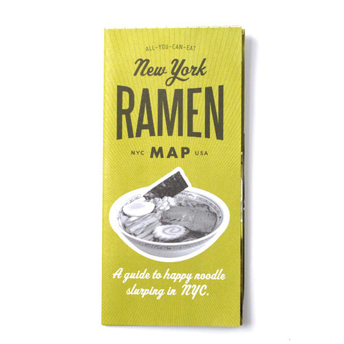 Volume 3 New York Ramen Map
