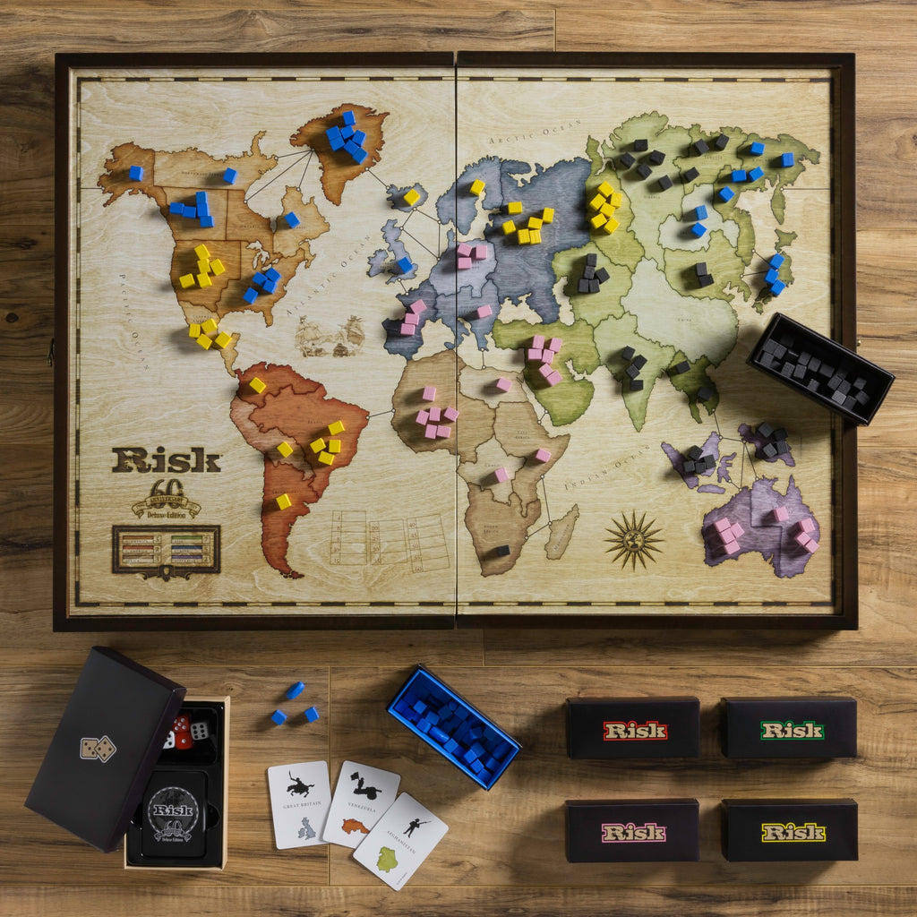 DELUXE WOODEN BOARD RISK