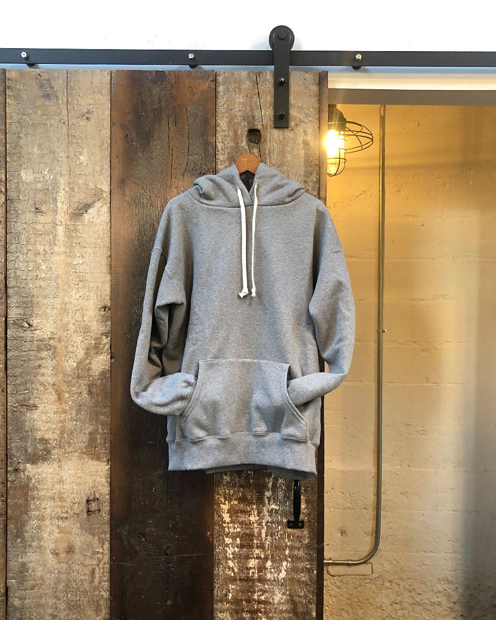 Heather Grey Cabin Hoodie